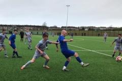 Ciaran Booty on defensive duties