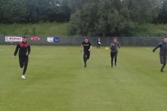 Foot-race-Sheldon-Mossop-Luke-Ivison-Conor-Tinnion-and-Scott-Williamson