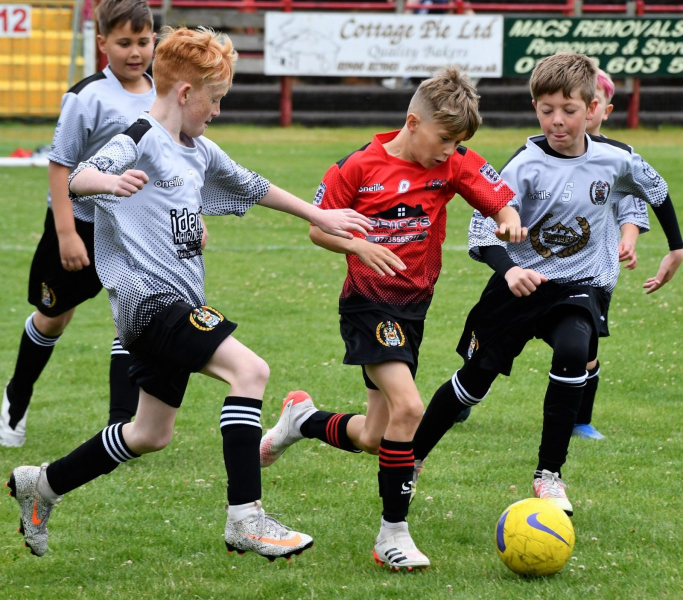 Reds Festival of Football – Juniors in action