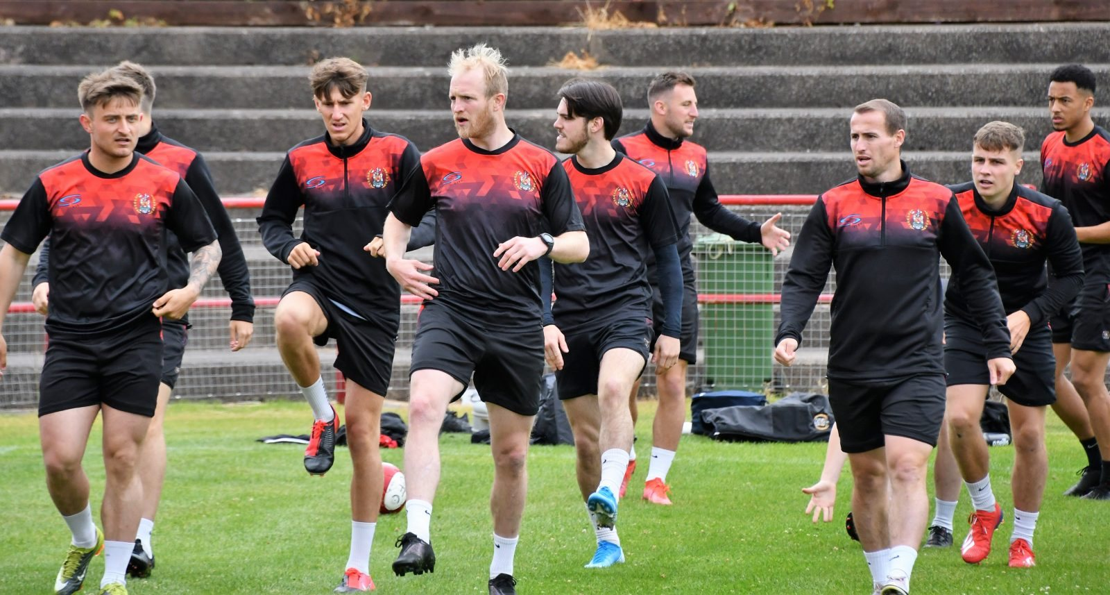 Reds Festival of Football – The First team training