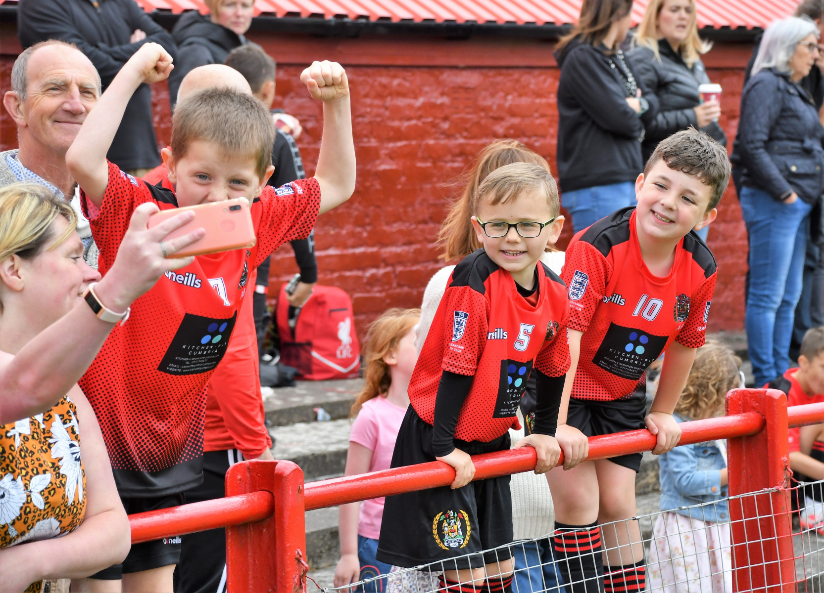 Reds Festival of Football – fun for the juniors
