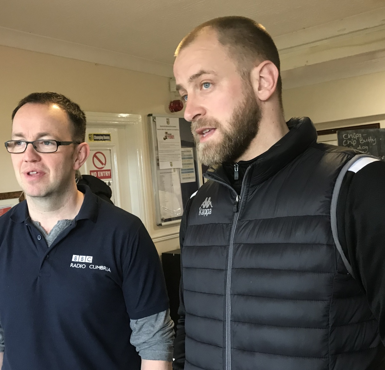 Tadcaster-Albion-BBC-Radio-Cumbrias-James-Phillips-and-Danny