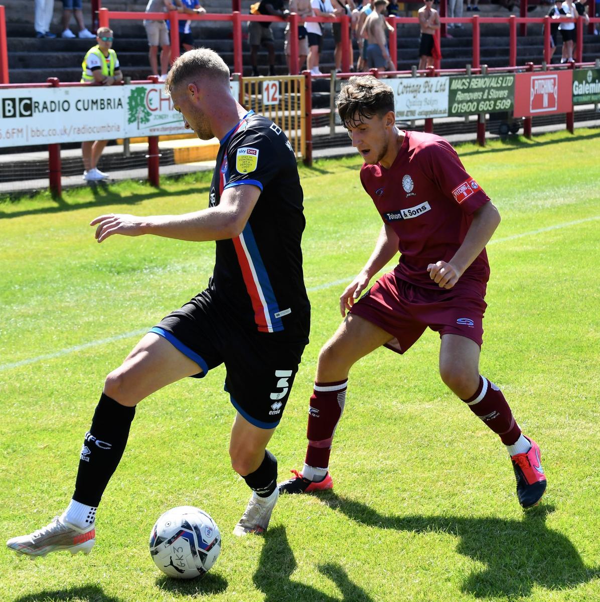 Workington-AFC-v-Carlisle-United-Ben-Challis-14-Jack-Armer-Matty-Clarke