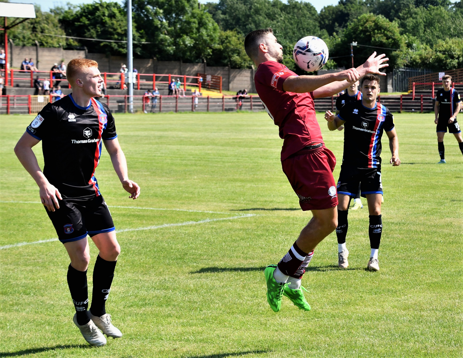 Workington-AFC-v-Carlisle-United-Ben-Challis-21-Stevie-Rigg