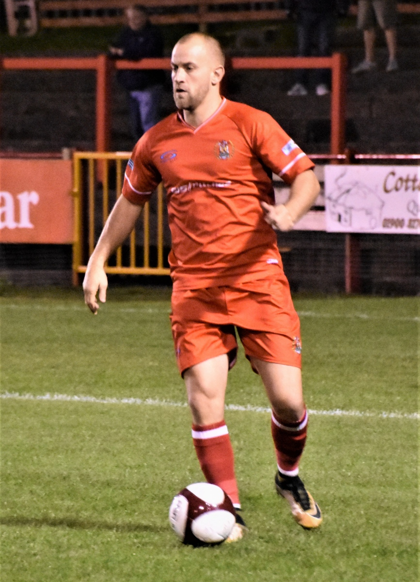 Danny Grainger was in defence for the Reds (Ben Challis)