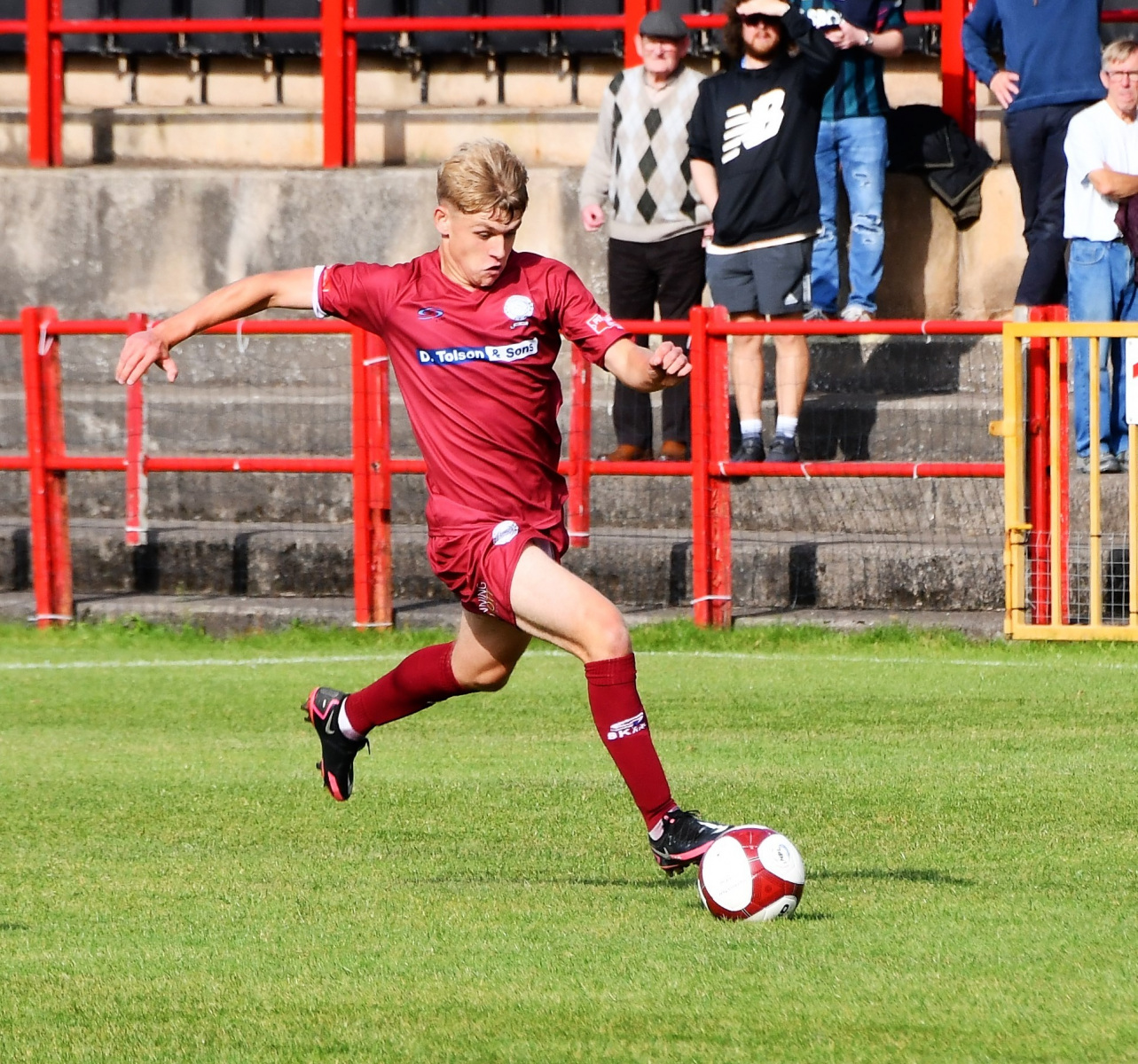 Keelan-Leslie-made-his-debut-for-the-Reds-as-a-substitute-Ben-Challis