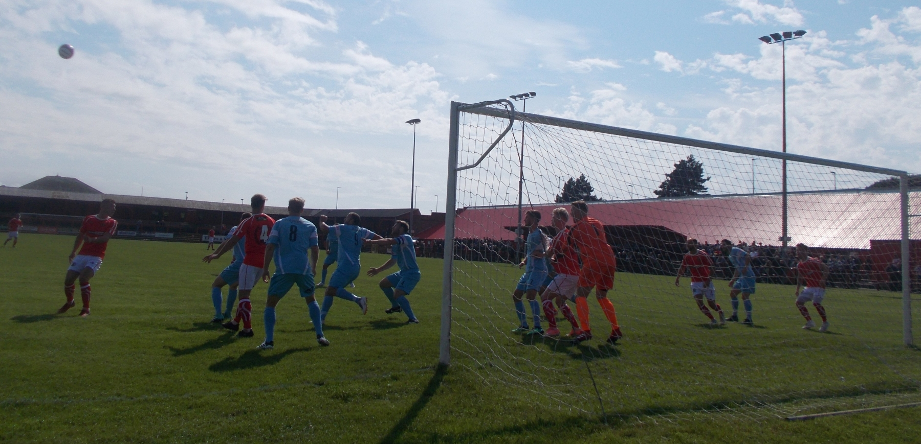 Workington AFC v. Stafford Rangers - Sat 18 Aug18 (Ben Challis & Kevin Haney)